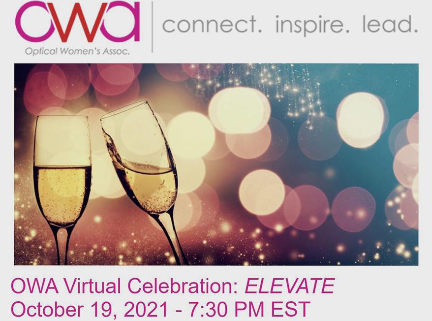 The Optical Women's Association Announces OWA Virtual Celebration: Elevate
